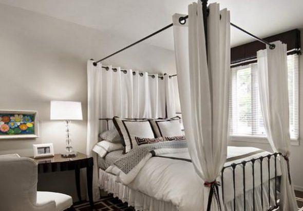 балдахин на взрослую кровать
