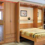 кровать шкаф удобная