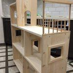 Делаем детский домик-полку для книжек,игрушек