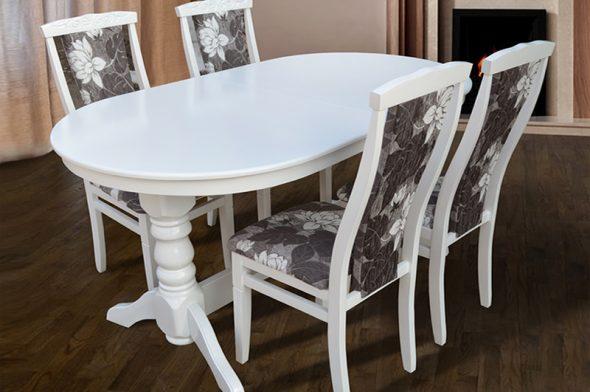 Деревянный раскладной стол Говерла