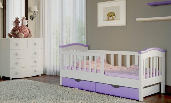 Детская кровать для девочки 160 80