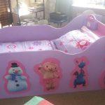 Детская кровать для девочки своими руками
