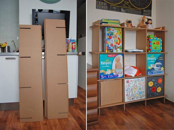 Детская мебель стеллаж для игрушек своими руками фото
