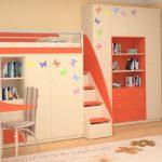 Детские кровати со шкафами