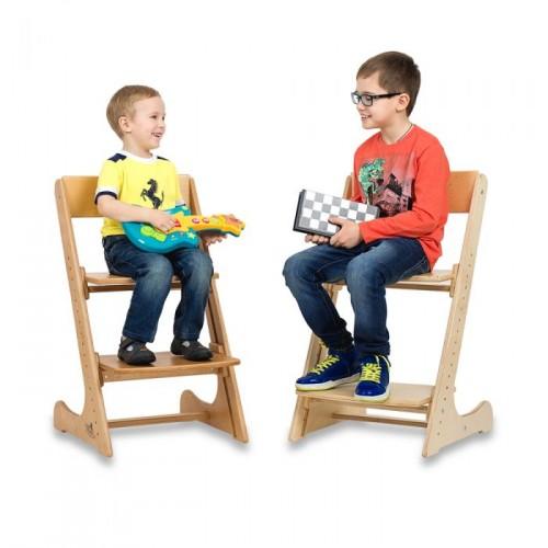 Детский деревянный растущий стул фото