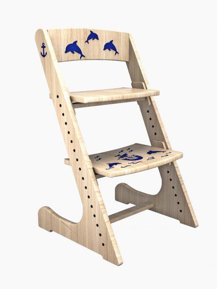 Детский стул конек горбунок