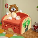 Детское кресло-кровать ЛЬВЕНОК