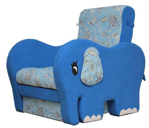Детское кресло-кровать Слоник