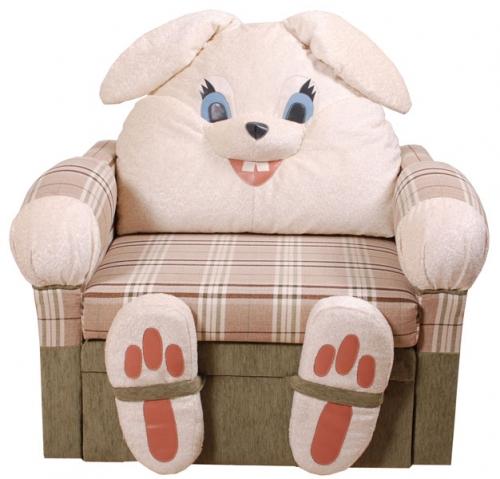 Детское кресло-кровать Зайка