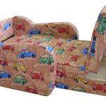 Детское кресло кровать для мальчика, ящик для белья
