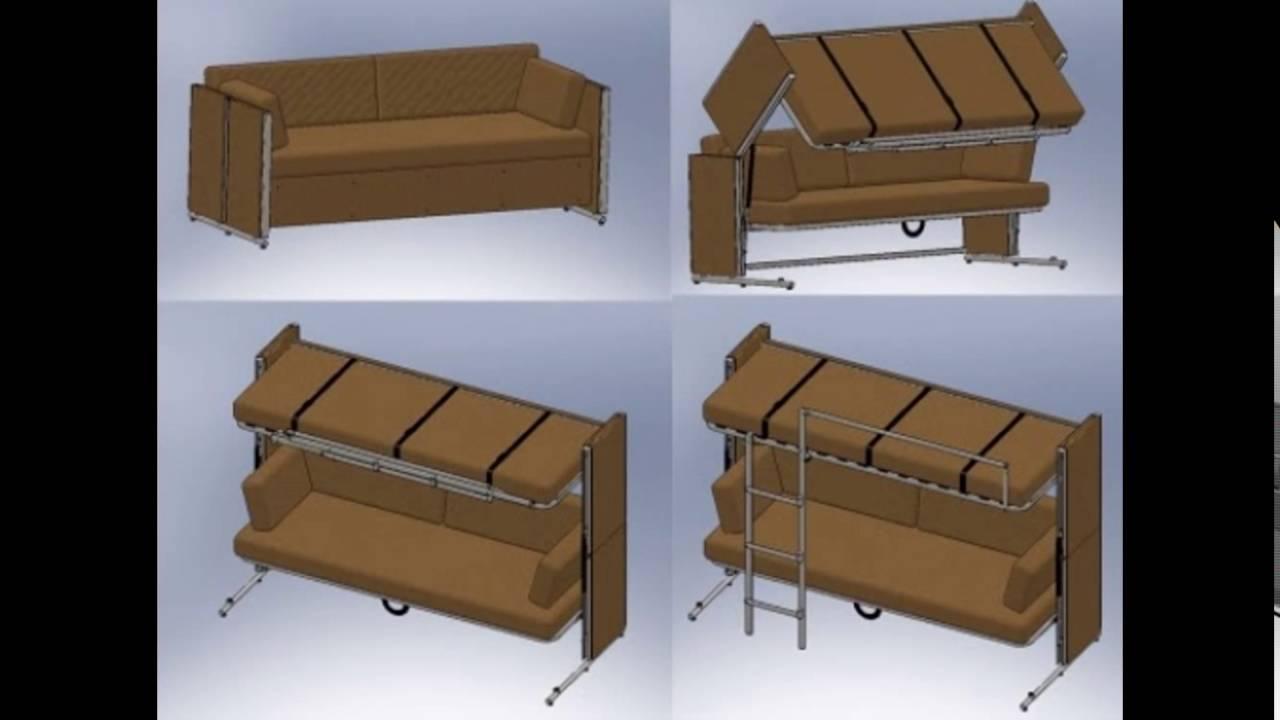 Как сделать кровать стол трансформер своими руками 29