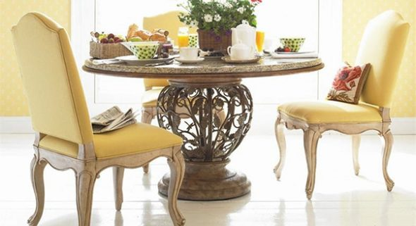 Длина и ширина обеденного стола