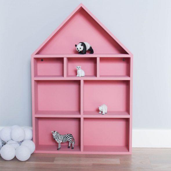 домик полка розовый