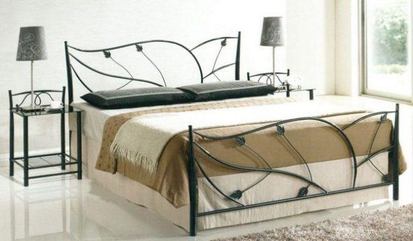 Достоинства металлических кроватей