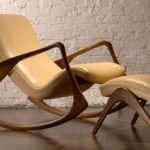 кресло с подставкой для ног удобное