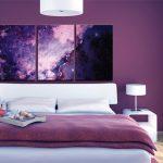 Картины для спальни — стильные