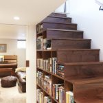 книжный шкаф лестница