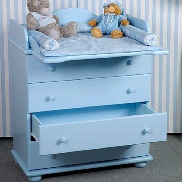 Комод для детской комнаты с откидным столиком