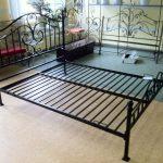 Кованая кровать основание