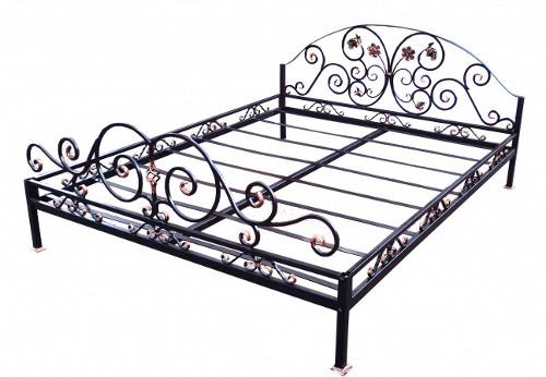 Кованая кровать своими руками