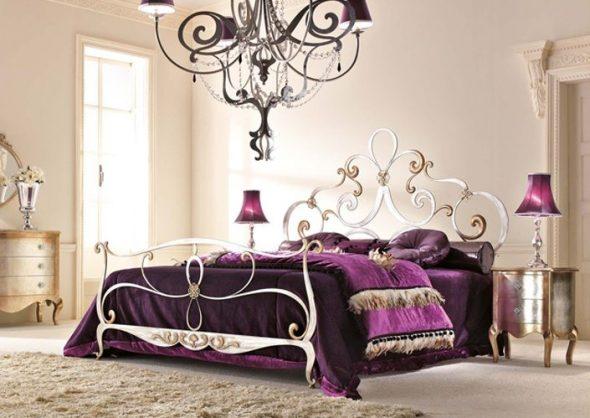 Кованная кровать Krista
