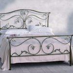 Кованые кровати-современный стиль