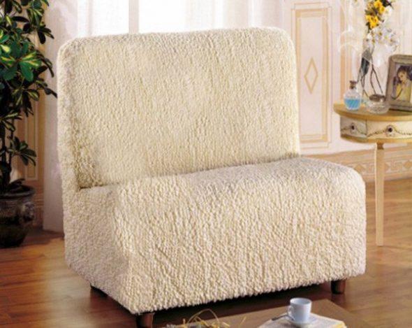 Кресло-кровать аккордеон без подлокотников (90х190)
