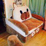 Кресло кровать для детей в дизайне