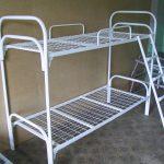 Кровать двухъярусная усиленная К-002У для рабочих