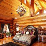 кровать из массива дерева фото