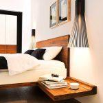 кровать из массива дерева дизайн