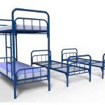 Кровать металлическая 2-х ярусная разборная