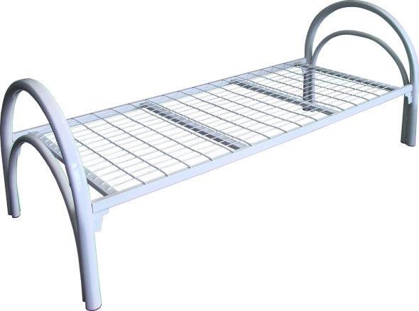 Кровать металлическая односпальная К-С1