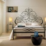 Кровать в романтическом стиле