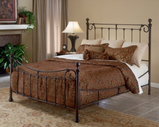 Кровати из металла для разных стилей