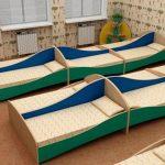 Мебель для детских садиков-кровати