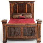 Мебель состаренная-кровать