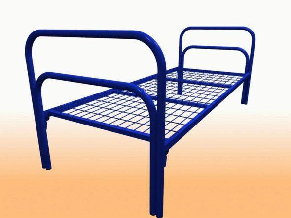 Металлические кровати для рабочих общежитий