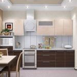 дизайн кухни модный