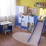 Модульная детская мебель Морячок