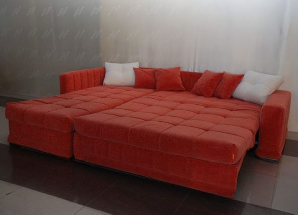 модульный диван аккордеон
