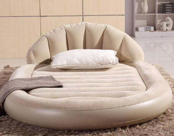 овальная кровать