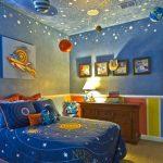 Покрывало на кровать для мальчика Планеты