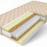 Преимущества и недостатки беспружинных ортопедических матрасов