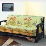 диван кровать яркий