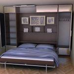 кровать шкаф откидная