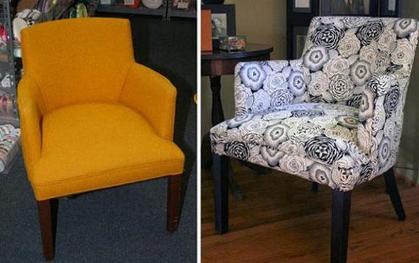 Реставрация кресла в гараже