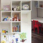 Секреты хранения в детской комнате