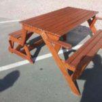 Скамейка-трансформер,стол