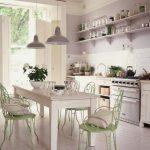 Скандинавский стиль мебели в оформлении кухни